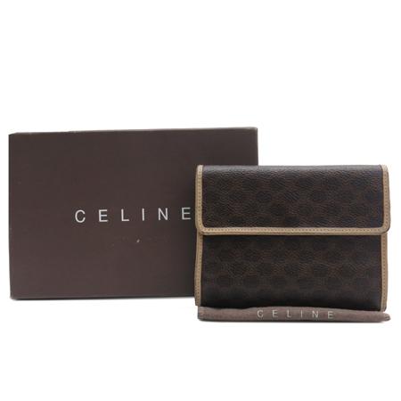 Celine(셀린느) 블라종 PVC 3단 중지갑