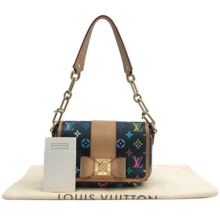 Louis Vuitton(루이비통) M40306 모노그램 멀티컬러 블랙 파띠 숄더백