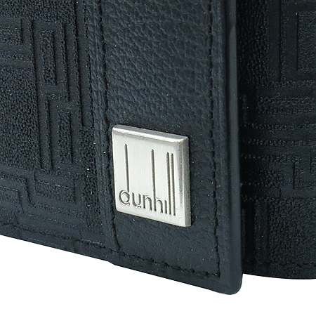 Dunhill(던힐) 은장 로고 장식 키케이스
