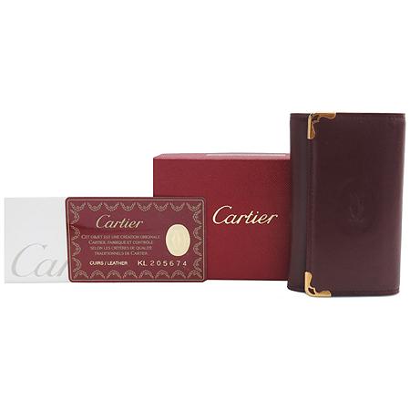 Cartier(까르띠에) L3000452 루비 라인 6홀더 키케이스