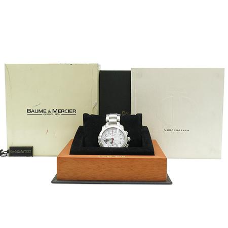 Baume&Mercier (보메메르시에) 케이프랜드 크로노그래프 오토메틱 남성용 스틸 시계