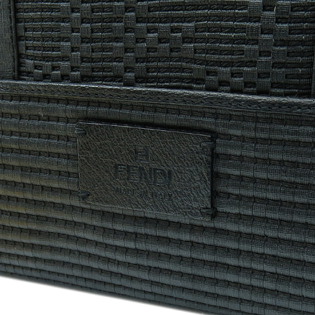 Fendi(펜디) 8BM193 블랙 레더 빅 쇼퍼백