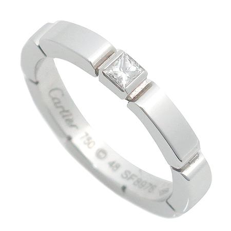Cartier(까르띠에) B4080248 18K 화이트 골드 1포인트 다이아 마이용 팬더 반지-8호 이미지3 - 고이비토 중고명품