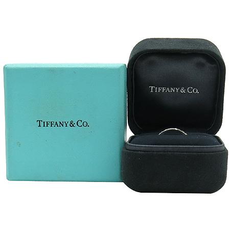 Tiffany(티파니) 18K 화이트 골드 아틀라스 3포인트 다이아 반지-12호