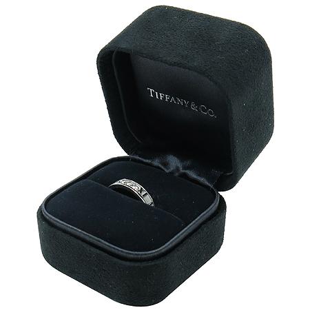 Tiffany(티파니) 18K 화이트 골드 아틀라스 3포인트 다이아 반지-12호 이미지2 - 고이비토 중고명품