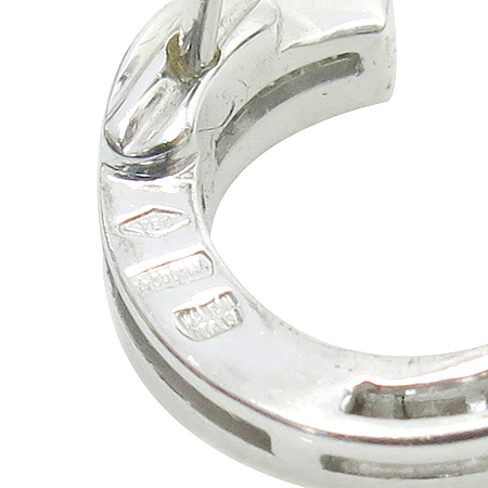 Bvlgari(불가리) OR852362 18K(750) 화이트 골드 원형 다이아 귀걸이