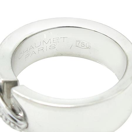 CHAUMET(쇼메) 18K(750) 화이트 골드 리앙 5포인트 다이아 반지 - 8호