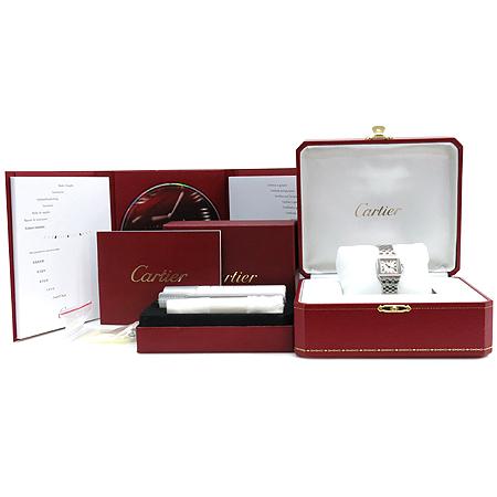 Cartier(까르띠에) W25064Z5 SANTOS DEMOISELLE 산토스 드모아젤 S사이즈 스틸 여성용시계