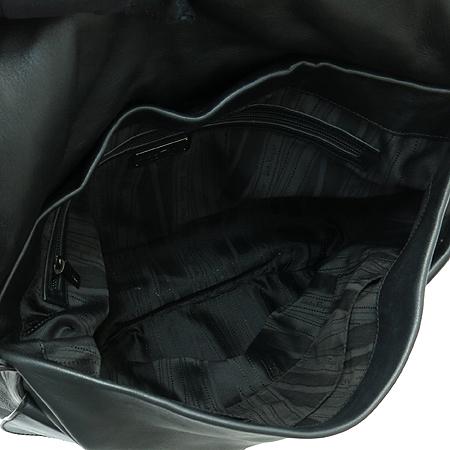 Ferragamo(페라가모) 21 B285 간치니 로고 장식 블랙 레더 빅 호보 숄더백 [부산본점]