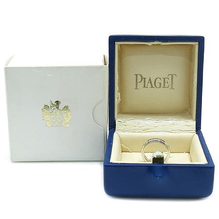 PIAGET(피아제) 18K(750)  화이트골드 1 포인트 다이아 포제션  반지 -8호