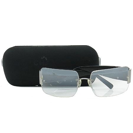 Chanel(샤넬) 4095 측면 COCO 로고 장식 무테 선글라스