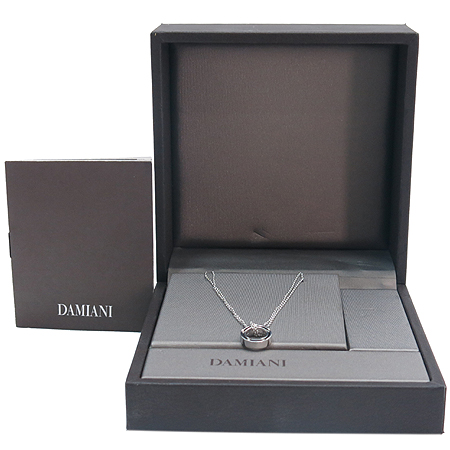 DAMIANI(다미아니) 18K 750 W/G(화이트 골드) 디사이드 10포인트 다이아 목걸이 [강남본점]