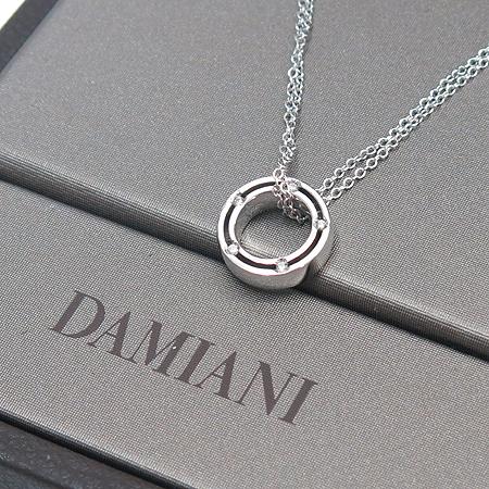DAMIANI(다미아니) 18K 750 W/G(화이트 골드) 디사이드 10포인트 다이아 목걸이