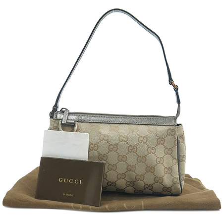 Gucci(구찌) GG 로고 자가드 파우치 숄더백