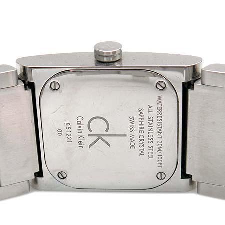 Calvin Klein(캘빈클라인) K51221 팔찌형 쿼츠 남여공용 시계