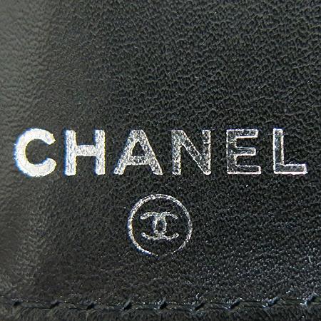 Chanel(샤넬) 이니셜 로고 블랙 레더 장지갑 이미지5 - 고이비토 중고명품