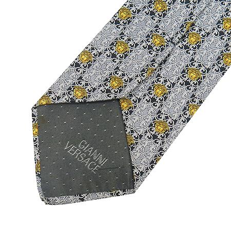 Versace(베르사체) 100% 실크 넥타이 이미지3 - 고이비토 중고명품
