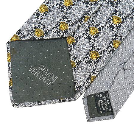 Versace(베르사체) 100% 실크 넥타이 이미지6 - 고이비토 중고명품