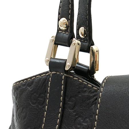 Gucci(구찌) 211935 GG 로고 시마 레더 금장 로고 숄더백