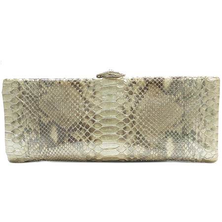 Chanel(샤넬) 2012년 S/S 시즌 한정판 CROISETTE(크로젯) EXOTIC(이그조틱) 파이손 클러치백