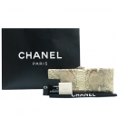 Chanel(샤넬) 2012년 S/S 시즌 한정판 CROISETTE(크로젯) EXOTIC(이그조틱) 파이손 클러치백 [강남본점]