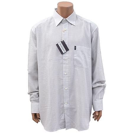 Zegna(제냐) 연그레이컬러 체크 셔츠 [강남본점]