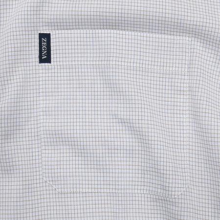 Zegna(제냐) 연그레이컬러 체크 셔츠 [강남본점] 이미지3 - 고이비토 중고명품
