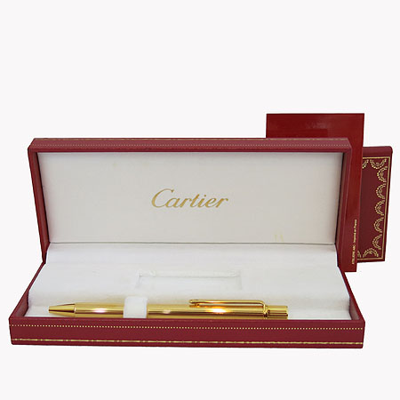 Cartier(까르띠에) must de cartier 금장 볼펜
