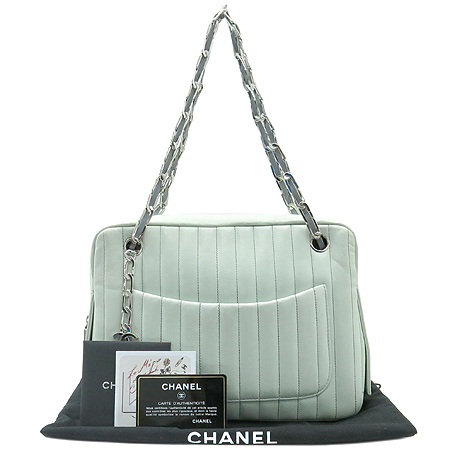 Chanel(샤넬) A30036 램스킨 은장 체인 숄더백