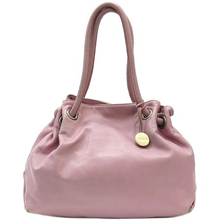 FURLA(훌라) 022136 핑크 레더 숄더백