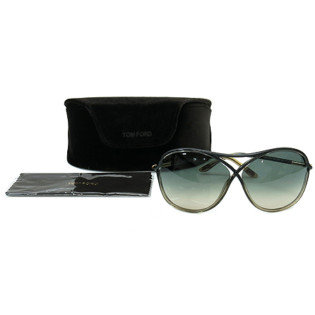 TOMFORD(톰포드) TF184 20B 투톤 컬러 금장 장식 뿔테 선글라스 [부산센텀본점]