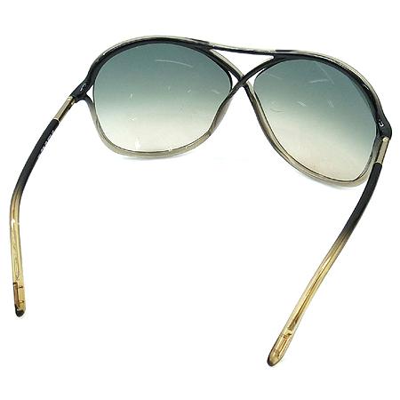 TOMFORD(톰포드) TF184 20B 투톤 컬러 금장 장식 뿔테 선글라스 이미지4 - 고이비토 중고명품
