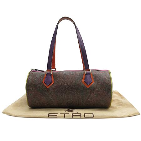 Etro(에트로) 07737 PVC 페이즐리 멀티 원통백