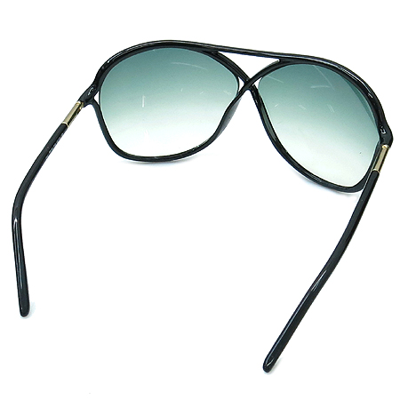 TOMFORD(톰포드) TF184 01B 측면 금장 장식 블랙 뿔테 선글라스 [부산본점]
