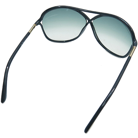 TOMFORD(톰포드) TF184 01B 측면 금장 장식 블랙 뿔테 선글라스 [부산점]