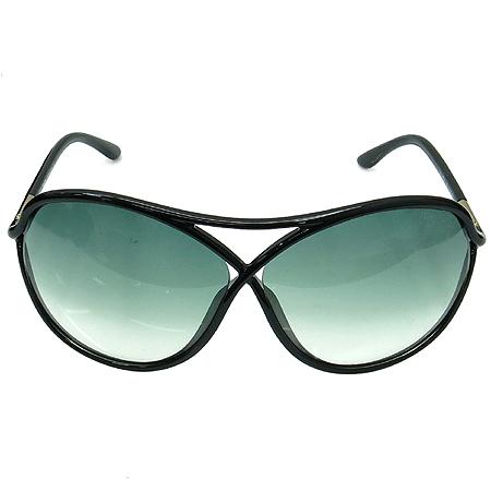 TOMFORD(톰포드) TF184 01B 측면 금장 장식 블랙 뿔테 선글라스 [부산센텀본점] 이미지3 - 고이비토 중고명품