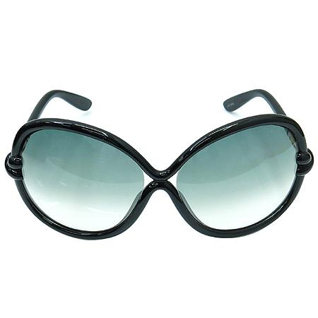 TOMFORD(톰포드) TF185 01B 블랙 뿔테 선글라스 이미지3 - 고이비토 중고명품