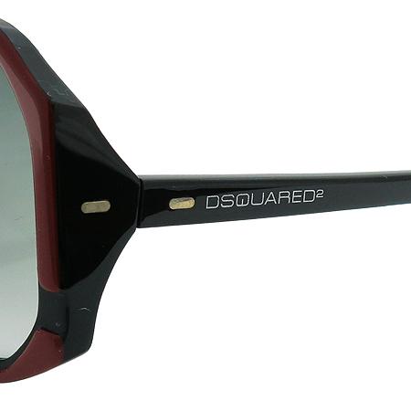 DSQUARED2(디스퀘어드2) DQ0052 68B 스퀘어 뿔테 선글라스