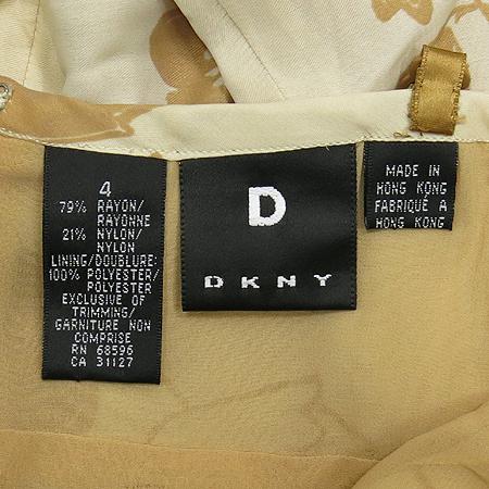 DKNY(도나카란) 베이지컬러 나시 원피스