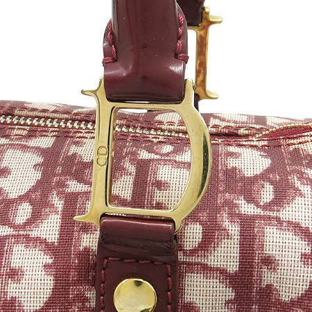 Dior(크리스챤디올) DIOR로고 PVC 보스턴 토트백