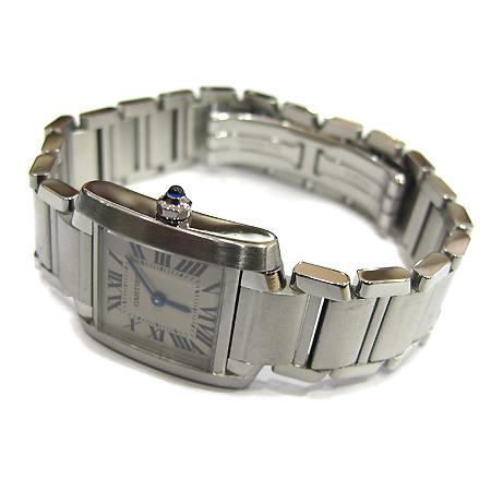 Cartier(까르띠에) W51008Q3 탱크 S 사이즈 스틸 여성용 시계 [부천 현대점] 이미지3 - 고이비토 중고명품