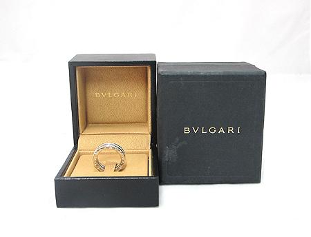 Bvlgari(불가리) AN850656 18K 화이트 골드 B-ZERO 1 풀 다이아 반지-8호 [분당매장]
