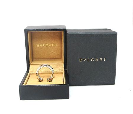 Bvlgari(불가리) AN850656 18K 화이트 골드 B-ZERO 1 풀 다이아 반지-17호 [분당매장]