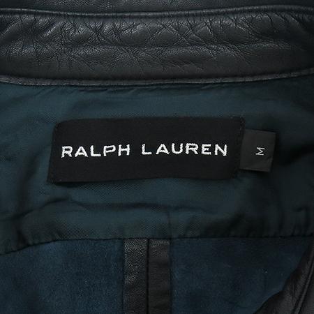 Polo Ralphlauren(폴로) 블랙 라벨 100% 양가죽 자켓