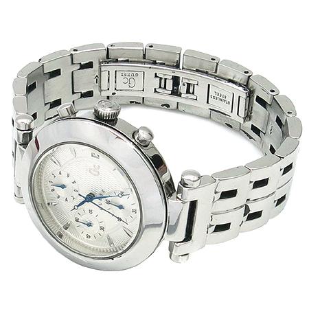 Guess(게스) GC70000 크로노그래프 스틸 쿼츠 남성용 시계