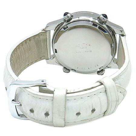 Agatha(아가타) 자개 크로노 9포인트 베젤 장식 스틸 여성용 시계