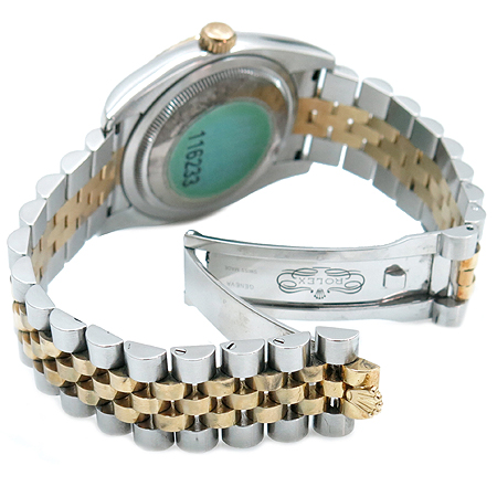 Rolex(로렉스) 116233 18K 콤비 로만 인덱스 DATE JUST(데이저스트) 남성용 시계