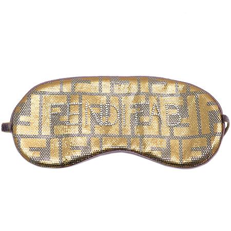 Fendi(펜디) 로고 장식 EYE 패드(수면안대) 이미지2 - 고이비토 중고명품