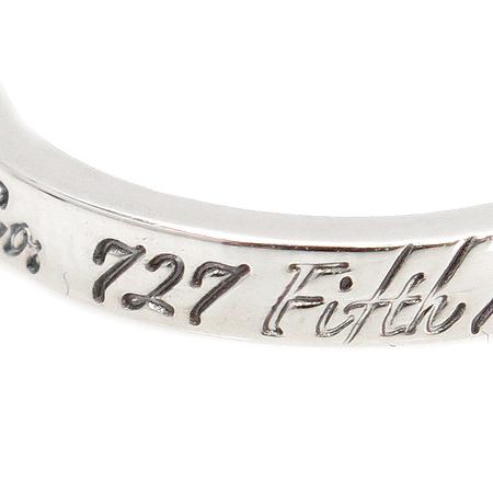 Tiffany(티파니) 925(은) 노트 밴드 링 반지 - 7호