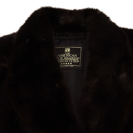 KEUN HWA FUR (근화모피) THE AMERICAN FUR AWARDS 5star 레드디시 브라운 밍크 코트